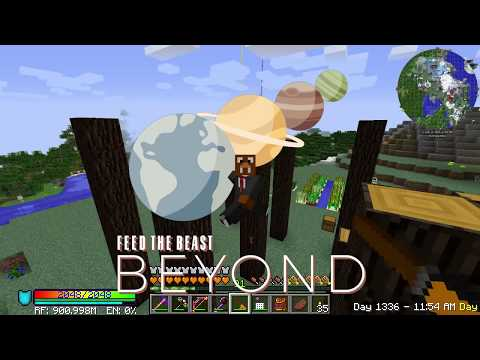 FTB Beyond Day 46 - Simple IC2 Nuclear Reactor! We Need Plutonium!