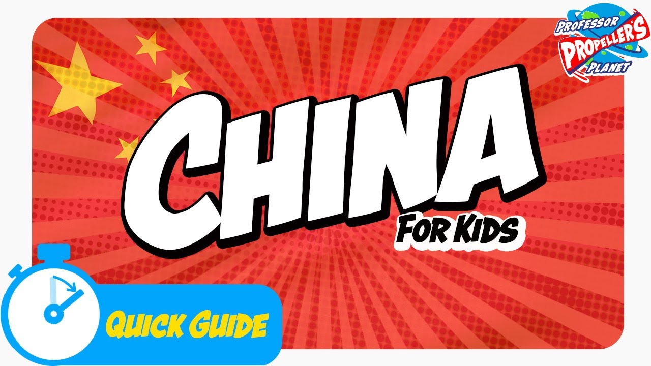 China For Kids China Travel Guide For Kids And Chinese Facts From Junior Jetsetters Youtube