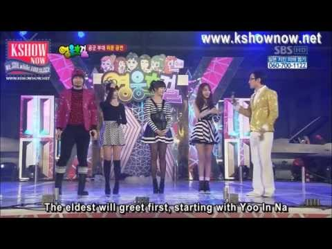 IU, Yoo In Na, Jiyeon Army Dance Cut - YouTube