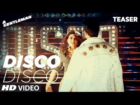 Thumbnail: Disco Disco Song Teaser | A Gentleman | Sidharth Malhotra Jacqueline Fernandez | Releasing Tomorrow.