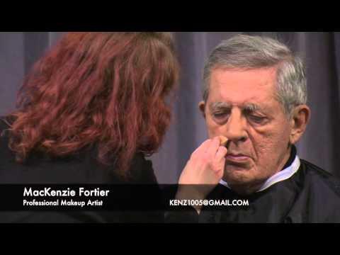 HD makeup demo with volunteer producer Bill Weir