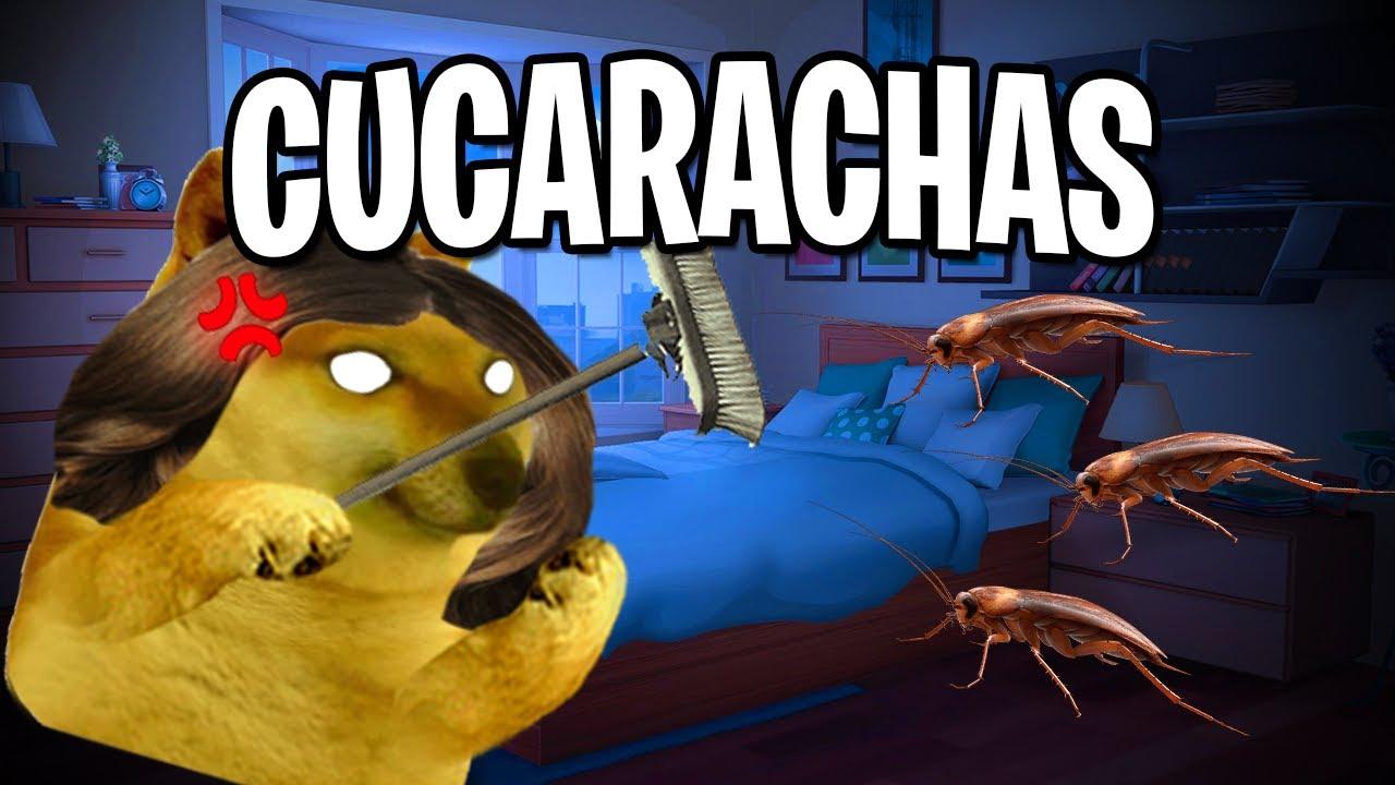 Abro hilo cuando LUCHE con 3 CUCARACHAS por mi TAREA en la MADRUGADA | Hilos con Cheems