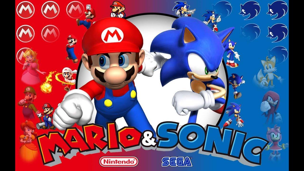 Mario Vs Sonic 201 Picas Batallas De Rap Del Frikismo