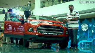 Ford EcoSport Walk-around