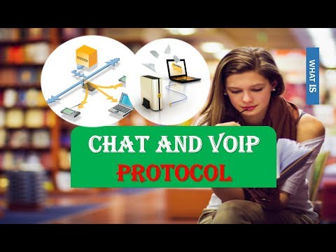 WHAT ARE CHAT AND VOIP PROTOCOL