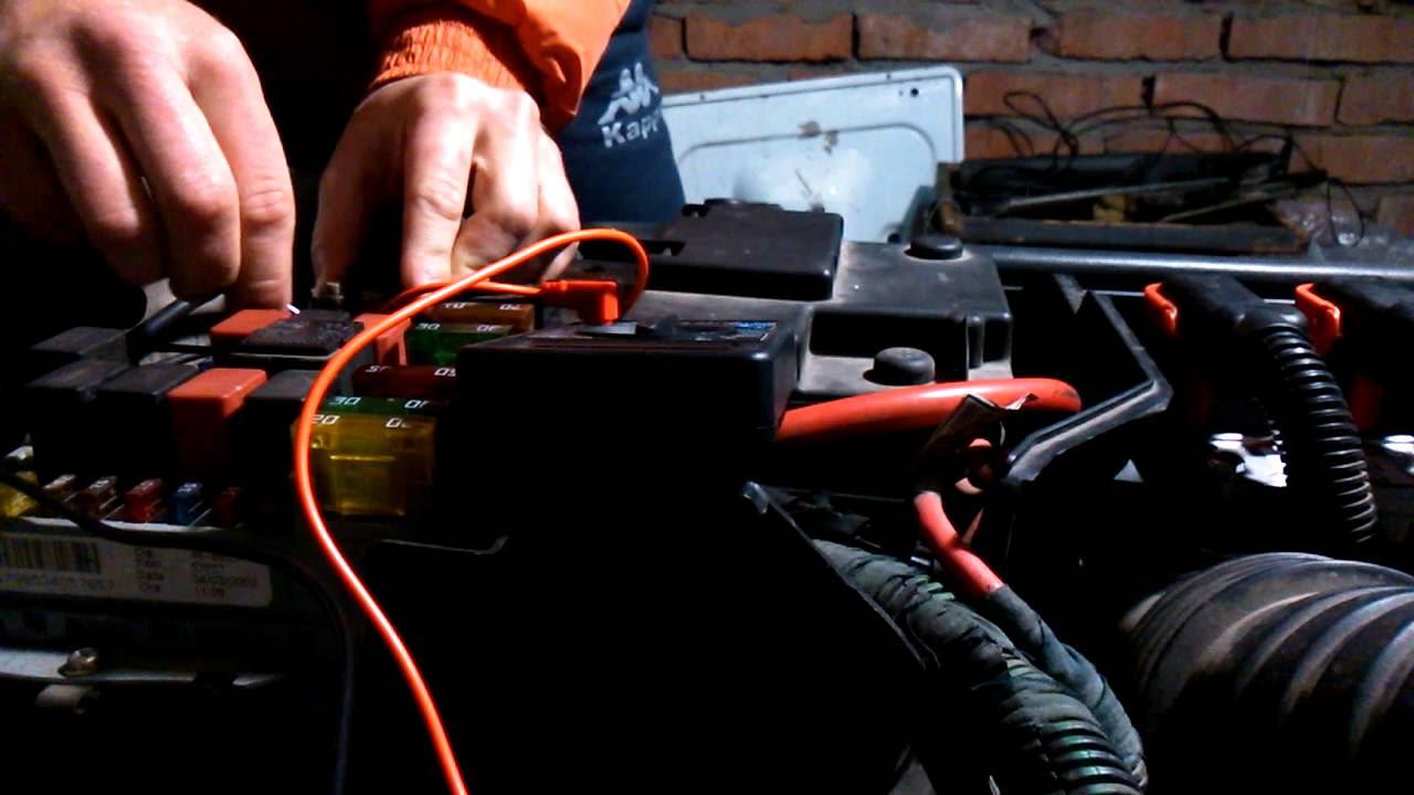 схема реле-регулятора генератора автомобиля фиат пунто