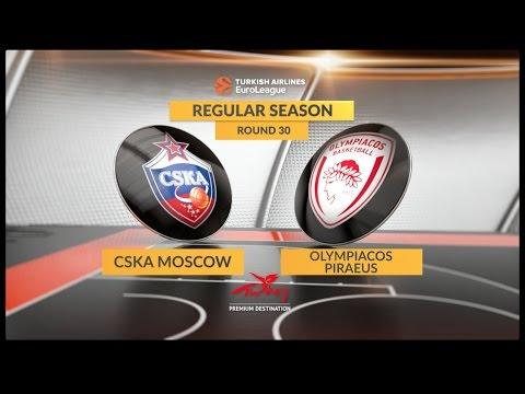 Highlights: CSKA Moscow-Olympiacos Piraeus