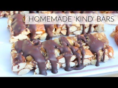 DIY KIND BARS RECIPE | easy healthy granola bars
