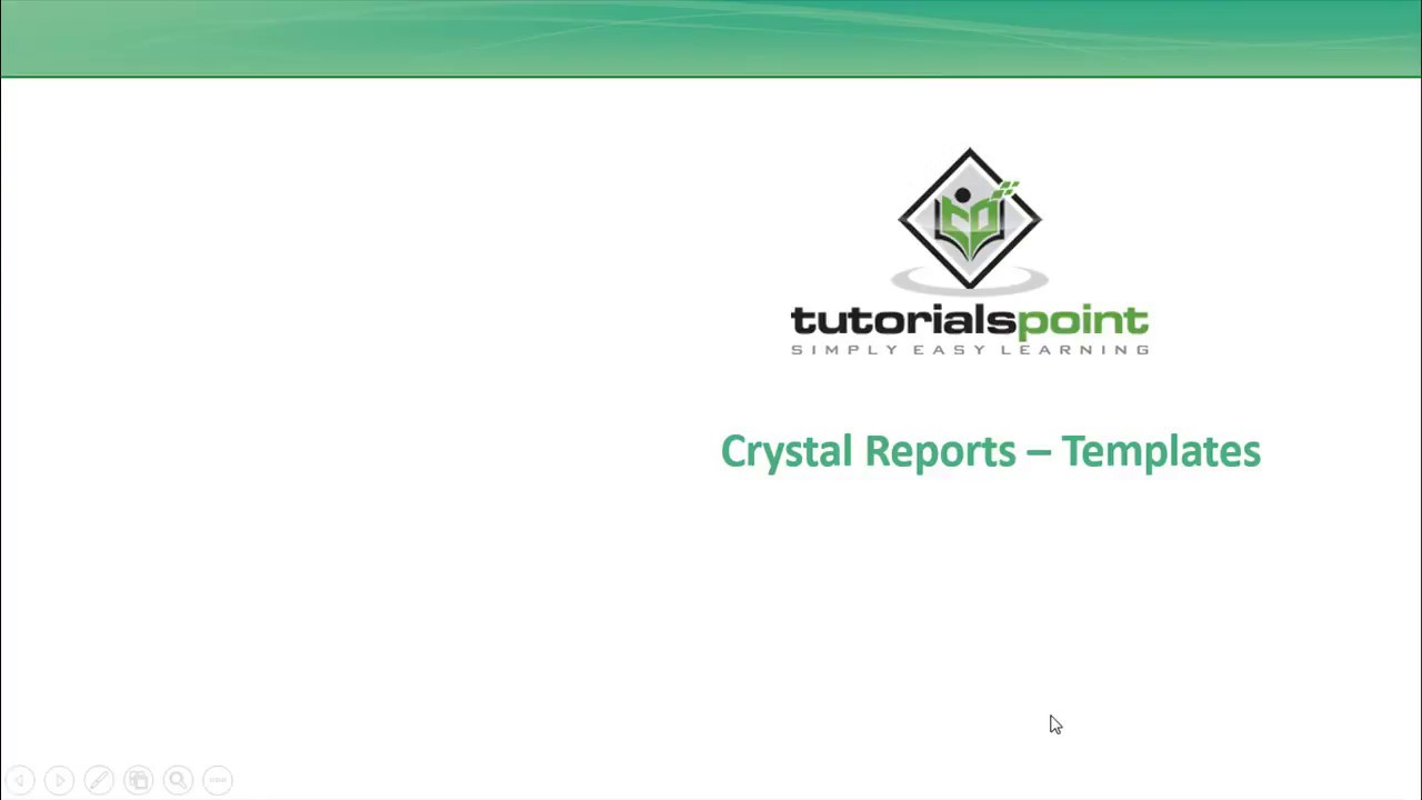 sap crystal reports templates youtube