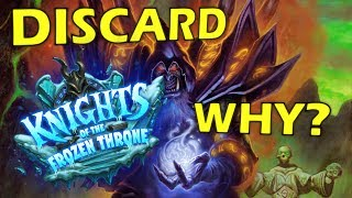 Hearthstone - The New Warlock Discard Legendary