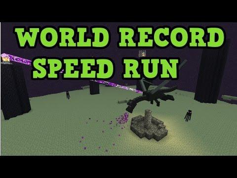 Minecraft Random Seed RECORD Attempt (Console)
