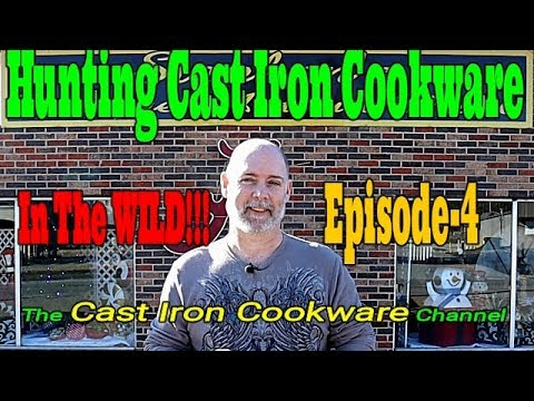 Hunting Cast Iron Cookware In The WILD!!! Episode-4
