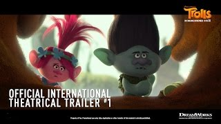 DreamWorks' Trolls [Official International Theatrical Trailer #1 in HD (1080p)] R