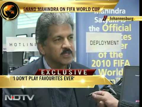 Anand Mahindra on FIFA World Cup