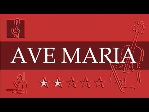 Violin Notes Tutorial - Ave Maria - Schubert (Sheet music - Guitar chords)