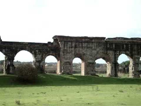 Ancient Roman Acqueducts (Claudian Acqueduct) Rome Italy