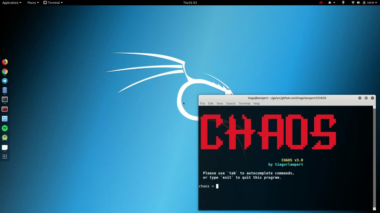 CHAOS Framework v3 0 - Generate Payloads And Control Remote