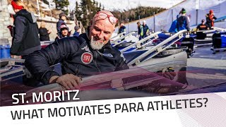 What motivates Para athletes? | IBSF Para Sport Official