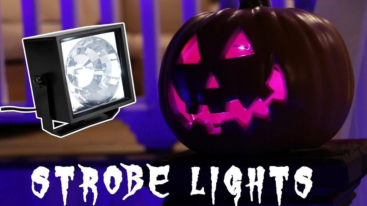 Halloween Strobe Lights