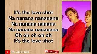 EXO - Love Shot Easy Lyrics
