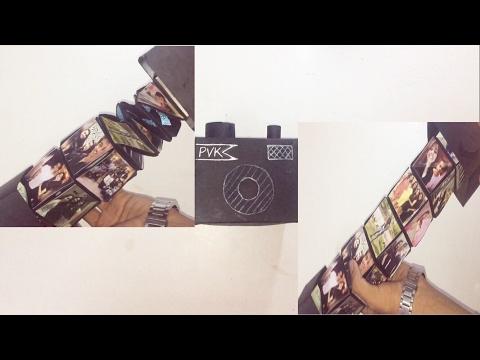 DIY EXPLODING CAMERA CARD   MAGIC SPIRAL CUBE BOX CARD   UNIQUE INSTAX CARD   DIY CRAFT - Post 32