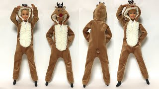바비인형옷만들기 - 루돌프
