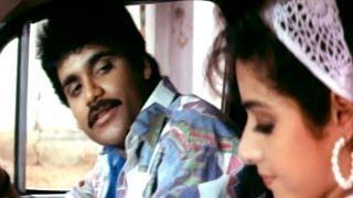 Govinda Govinda Movie || Beautiful Love Scene Between Nagarjuna & Sridevi