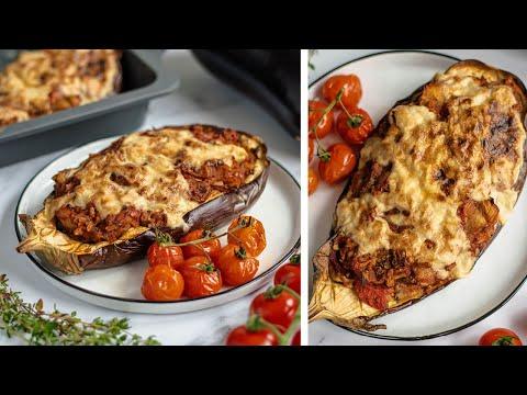 Eggplant pizza // vegan & healthy comfort food