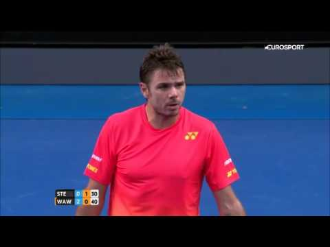 Stan Wawrinka is MAD ! He's not allowed to speak french.