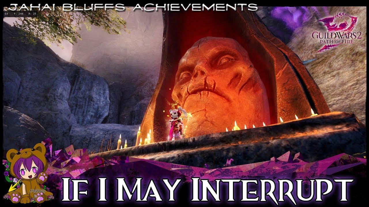 GW2 - If I May Interrupt achievement