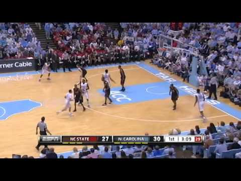 UNC vs NC State Highlights