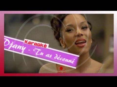 Djany - J'ai déconné (remix) [Karaoke - Paroles - Lyrics]