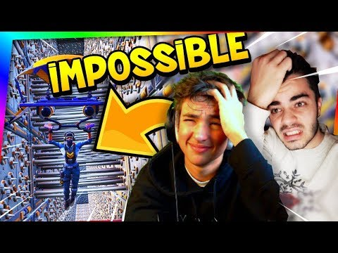 Fortnite - *NEW* IMPOSSIBLE PARCOURS D'OBSTACLES AVEC INOXTAG !
