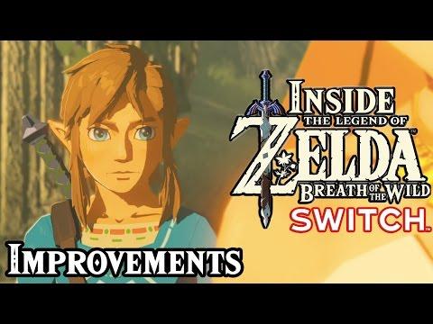 Inside Zelda Breath of the Wild - Switch Improvements