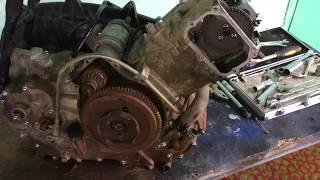 Квадроцикл Stels ATV - 500 Розбирання двигуна і ремонт коробки. Частина-1 розбирання та опис