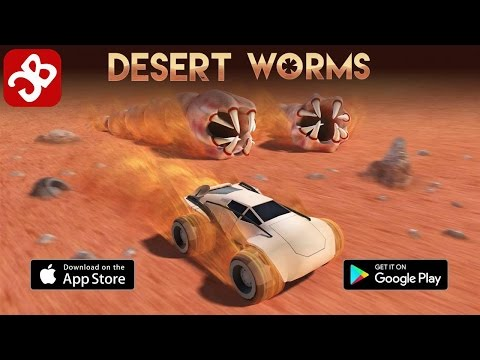 Desert Worms (By Devm Games SE) - iOS / Android - Gameplay Video