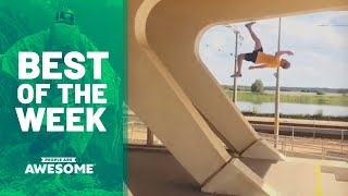 Blade Tricks, Dice Stacking, Extreme Pogo & More | Best of the Week Video