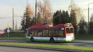 Lublin Trolleybus Ride Lublin Trolejbusowy Przejazd Route 153 Pancerniaków ⇒ Węglin