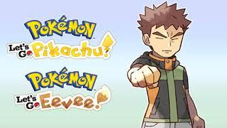 Gym Leader Battle - Pokemon Let's Go Pikachu & Eevee Music Extended