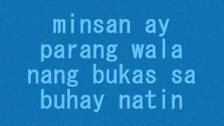 minsan-eraserheads with lyrics