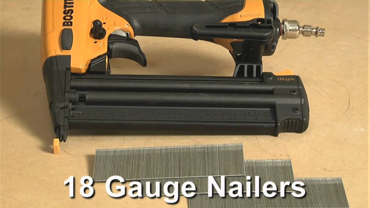 which gauge finish nailers should you own?