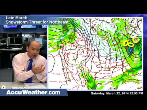 Late March Snowstorm Threat for Northeast