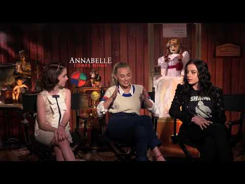 Annabelle Comes Home Cast Interview with McKenna Grace, Madison Iseman & Katie Sarife