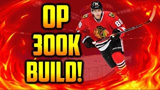 OVERPOWERED 300K BUDGET TEAM BUILD! NHL 17 TEAM BUILDS/REVIEWS