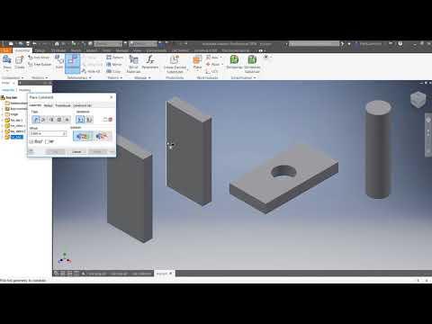 Autodesk Inventor 2018: 4 : Basic Assembly