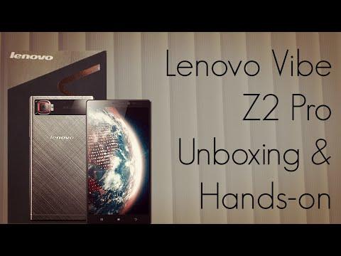 Lenovo Vibe Z2 Pro Unboxing & Hands on - PhoneRadar