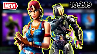 FORTNITE DAILY ITEM SHOP 10.2.19 | GLEICH 2 NEW SKINS IN SHOP!!