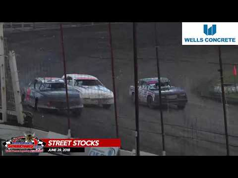 WISSOTA Street Stock Highlights - River Cities Speedway - June 29, 2018