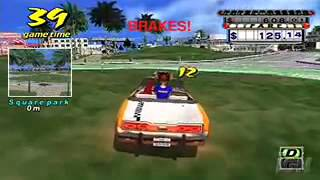 Crazy Taxi: Fare Wars v2.01 - PSP Gameplay