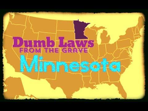 Dumb laws in minnesota